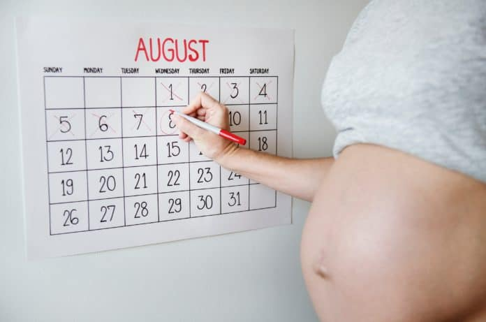 first signs of labor approaching