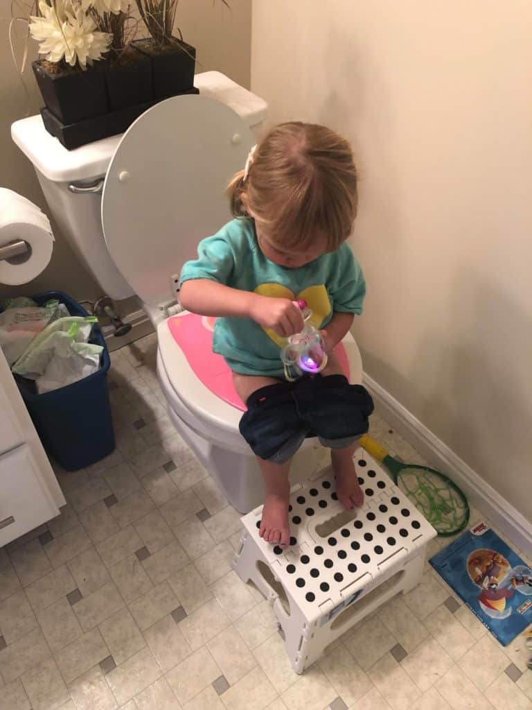 What Our Potty Training Schedule Looked Like