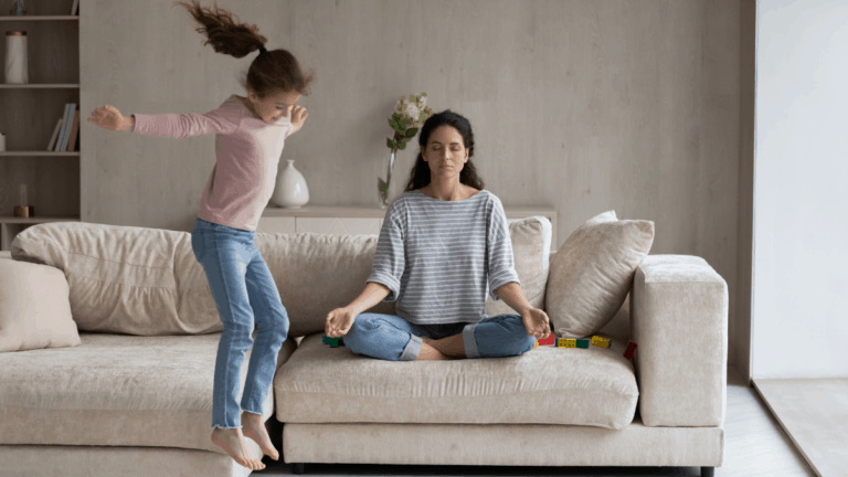 Peaceful Parenting Tips: How To Be A Calm Mom